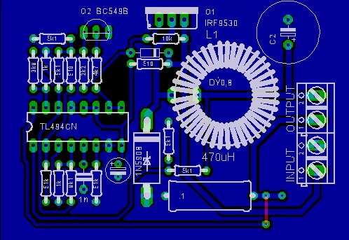 Switching regulator dengan TL494 |  digihadiy