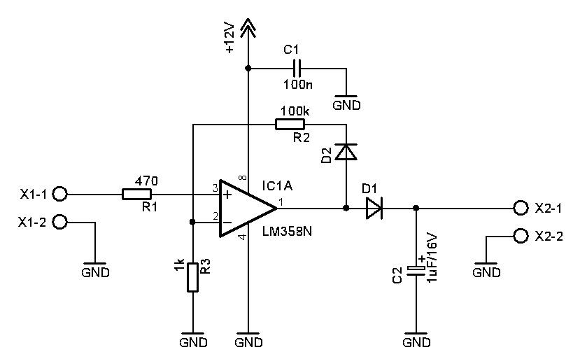 rangkaian rectifier tegangan rendah   u201coutput sangat dc